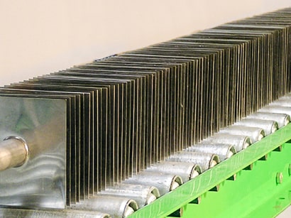 Stamped Fin Heat Exchanger